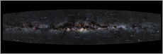 Wall sticker  Milky Way Panorama (German labels) - Jan Hattenbach