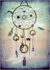 Wall sticker  Dream  Catcher - Sybille Sterk