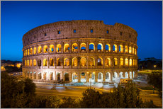 Wall sticker  Colosseum in Rome at night - Jan Christopher Becke