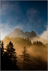 Wall sticker  Foggy Morning in the Alps - Michael Helmer