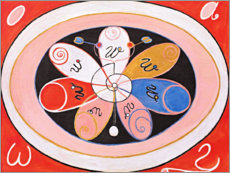 Foam board print  Evolution, No. 15 - Hilma af Klint