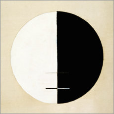 Wood print  No. 3a. Buddha's Standpoint in Earthly Life - Hilma af Klint