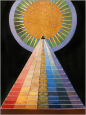 Foam board print  No. 1, Altarpiece - Hilma af Klint