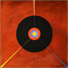 Foam board print  The Swan, No. 18 - Hilma af Klint