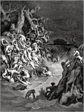 Wall Sticker  The world will be destroyed by water - Gustave Doré