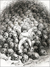 Gallery print  Love reflects on Death - Gustave Doré
