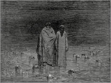 Gallery print  The Inferno, Canto 32 - Gustave Doré