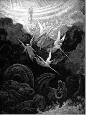 Gallery print  the crowned virgin - Gustave Doré