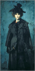 Gallery Print  Madame Laura Leroux - Jean-Jacques Henner