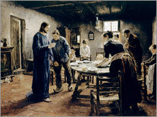 Gallery Print  The grace - Fritz von Uhde