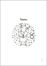 Wall Stickers  Taurus - Petit Griffin