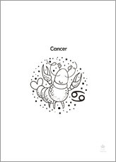 Gallery print  Cancer - Petit Griffin
