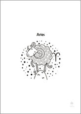 Wall sticker  Aries - Petit Griffin