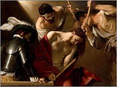 Wall Stickers  The Crowning with Thorns - Michelangelo Merisi (Caravaggio)