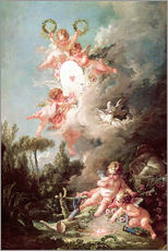 Gallery print  Angel - François Boucher