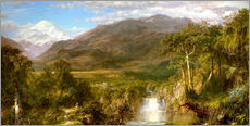 Wall sticker  Heart of the Andes - Frederic Edwin Church