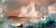 Wall sticker  The icebergs - Frederic Edwin Church