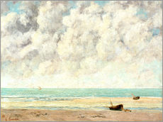Wall sticker  Calm lake - Gustave Courbet