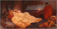 Wall sticker  Cymon and Iphigenia - Frederic Leighton