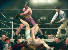 Gallery print  Dempsey and Firpo - George Wesley Bellows