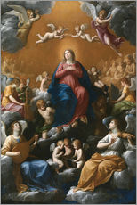 Wall Stickers  Coronation of the Virgin - Guido Reni