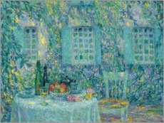 Wall sticker  Table in the sun among the leaves - Henri Le Sidaner