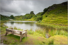Gallery print  The Fairy Glen on Isle of Skye, Scotland - Markus Ulrich