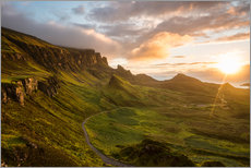 Gallery print  The Quiraing, Isle of Skye, Scotland - Markus Ulrich