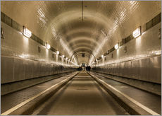 Gallery Print  Famous Elbtunnel, Hamburg, Germany - Markus Ulrich
