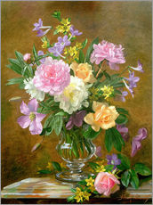 Gallery print  Vase of Flowers - Albert Williams