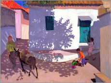 Wall Stickers  Green Door and Shadows, Lesbos, 1996 - Andrew Macara