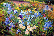 Wall Stickers  Flower bed - Timothy Easton