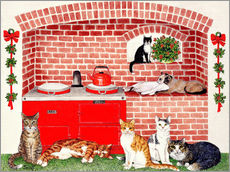 Gallery print  Cats in the kitchen - Pat Scott