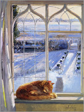 Gallery print  Cat in the Window - Timothy Easton