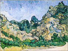 Gallery print  The Alpilles - Vincent van Gogh