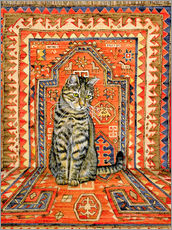 Wall sticker  Carpet Cat - Ditz