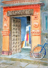 Gallery print  In the Old Town, Bhuj - Lucy Willis