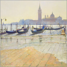 Wall Sticker  Venice at Dawn - Timothy Easton