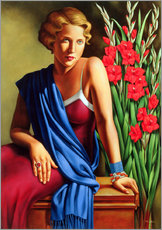 Gallery print  Girl with scarab ring - Catherine Abel