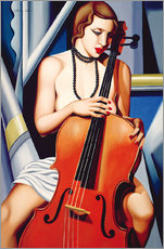 Gallery print  Woman with cello - Catherine Abel