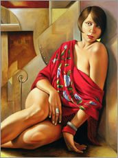 Wall Stickers  AUTUMN RUBY - Catherine Abel