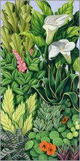 Wall Stickers  FOLIAGE I - Catherine Abel