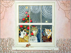 Gallery print  The Christmas-Mouse - Ditz