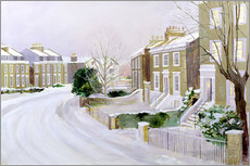 Wall sticker  Stockwell in the snow - Sarah Butterfield