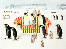 Gallery print  Penguins on a sofa - E.B. Watts