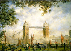 Gallery print  Tower Bridge view from the Tower of London - Richard Willis