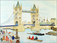 Gallery print  Tower Bridge, London - Gillian Lawson