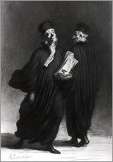 Gallery print  Two Lawyers - Honoré Daumier