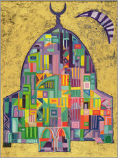 Gallery print  The House of God II, 1993-94 - Laila Shawa