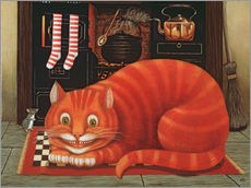 Wall sticker  The Cheshire Cat - Frances Broomfield
